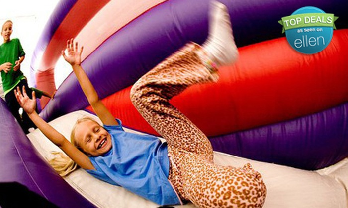 BounceU - Multiple Locations: $18 for a Four-Session Bounce Pass to BounceU (Up to $43 Value)