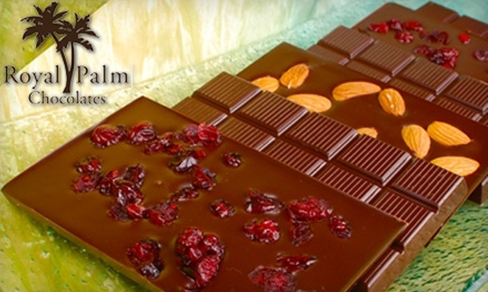 Royal Palm Chocolates - Naples: $10 for $20 Worth of Gourmet Chocolate Confections at Royal Palm Chocolates