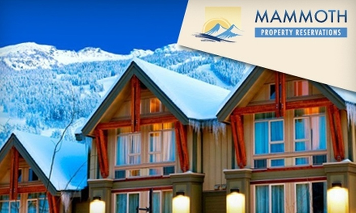 Mammoth Property Reservations - Mammoth Lakes: Rental-Property Stay in Mammoth Lakes from Mammoth Property Reservations. Choose Between Two Options.