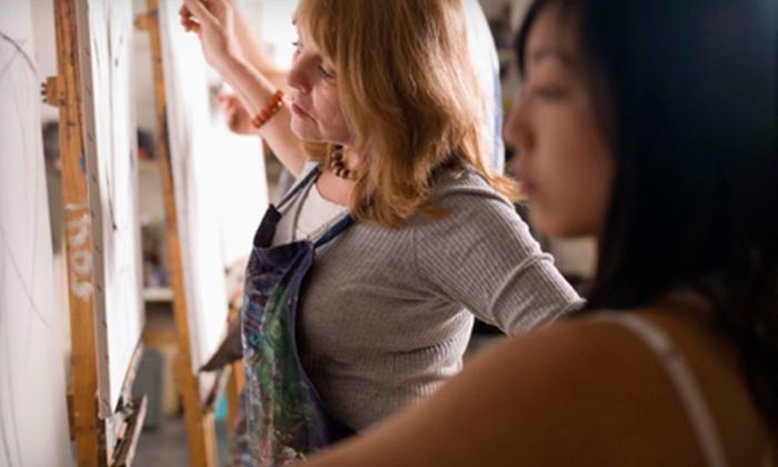 Just Your Art - Mundelein: BYOB Painting Class for One or Four at Just Your Art in Mundelein