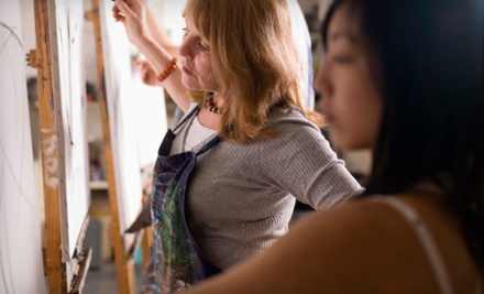 Just Your Art: 1 Admission to a 2-Hour Adult BYOB Painting Class, Including Supplies  - Just Your Art in Mundelein