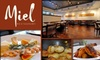 Miel Restaurant - Sylvan Park: $25 for $50 Worth of Organic French Cuisine and Drinks at Miel Restaurant