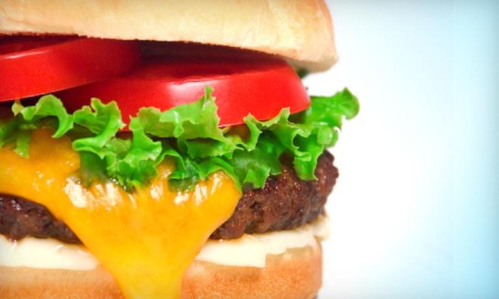 Wah-Bo Grill - Shrewsbury: $6 for $12 Worth of Burgers and Burritos at Wah-Bo Grill