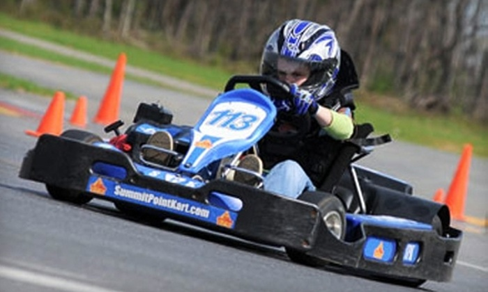 Summit Point Kart - Summit Point: $75 for a Kids Half-Day Go-Kart Camp at Summit Point Kart ($150 Value)