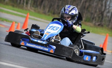 Summit Point Kart: Kids Half-Day Go-Kart Camp on Wed., June 15 at 8AM - Summit Point Kart in Summit Point