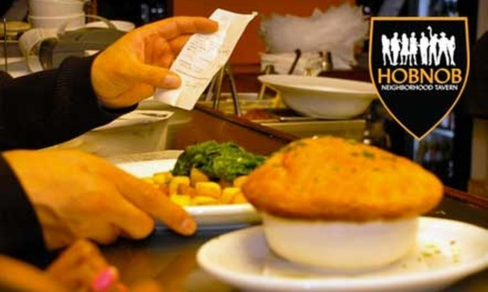 HOBNOB Neighborhood Tavern - Morningside - Lenox Park: $12 for $25 Worth of Pub Cuisine and Pours at Hobnob Neighborhood Tavern