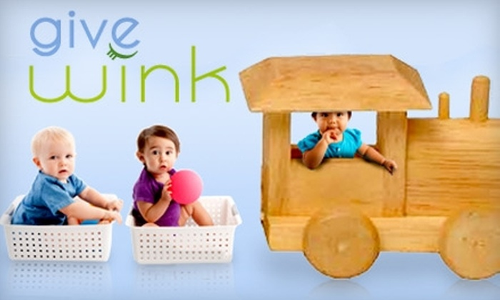 Give Wink: $25 for $50 Worth of Baby and Children's Toys and Gifts from Give Wink