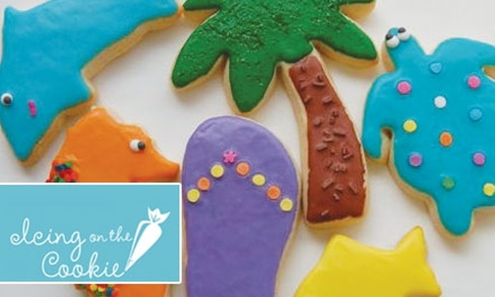 Icing on the Cookie - Homewood: $6 for Six Custom-Iced Cookies from Icing on the Cookie