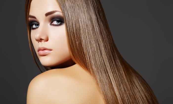 James Albert Salon - James Albert Salon: Brazilian Straightening Treatment from James Albert Hair Studio (55% Off)