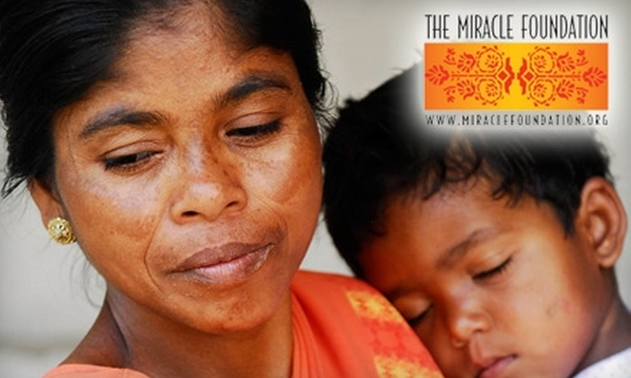 The Miracle Foundation: Donate $10 to The Miracle Foundation to Provide New Bunk Beds to Orphaned Children in India