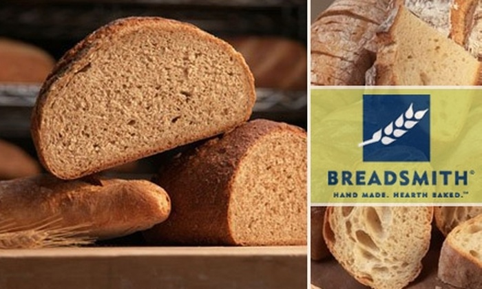Breadsmith of St. Louis - Warson Woods: $5 for $15 Worth of Gourmet Breads at Breadsmith of St. Louis