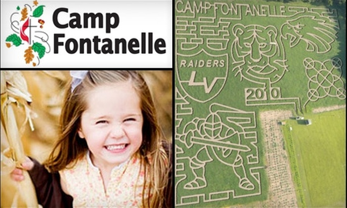Camp Fontanelle - 6: $6 for Two Admissions to Corn Maze at Camp Fontanelle