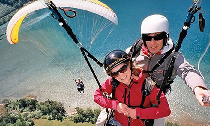 California Sport Adventures - Los Feliz: $144 for a Tandem Paragliding Experience from California Sport Adventures ($360 Value)