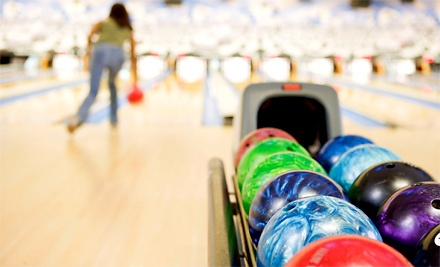 Two Games of Bowling with Shoes for Two or Four at Palace Pointe (Up to 57% Off)