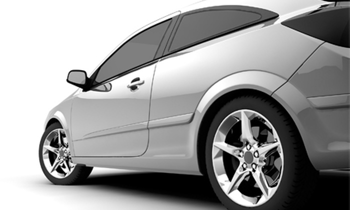 Smart Look - Industrial Equipment Center: Vehicle Dent Removal or Window Tinting at Smart Look. Five Options Available.