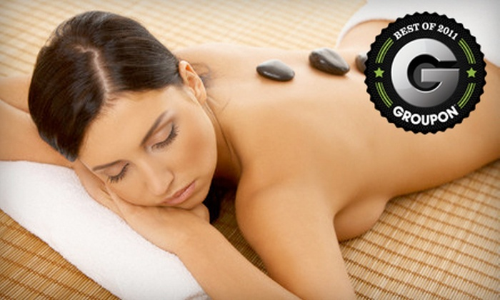 K's Nail Bar and Spa - Portage Lakes: One Hot-Stone Massage or Choice of Three One-Hour Massages at K's Nail Bar & Spa (Up to 62% Off)