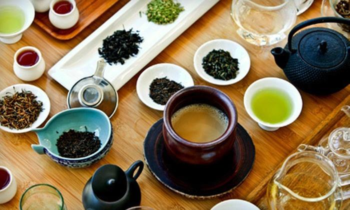 Samovar Tea Lounge - Multiple Locations: Artisan Whole-Leaf Tea and Global Fusion Café Fare at Samovar Tea Lounge (55% Off). Two Options Available.