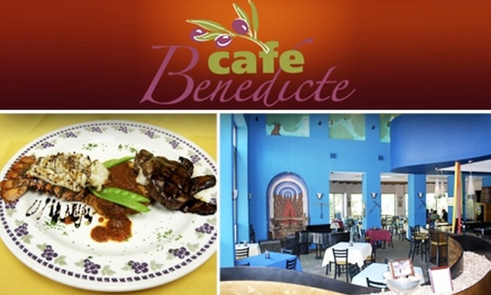 Cafe Benedicte - Memorial: $15 for $30 Worth of Continental Fare to Cafe Benedicte