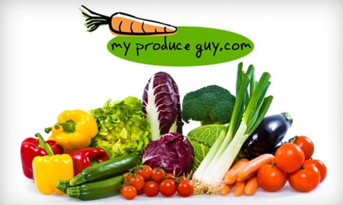 MyProduceGuy.com: $12 for $24 Worth of Fresh Produce and Groceries from MyProduceGuy.com