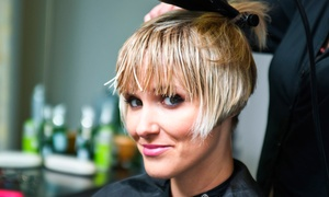 Coiffure Salon: Haircut and Condition with Optional Partial and Accent Highlights or Full Highlights at Coiffure Salon (55% Off)