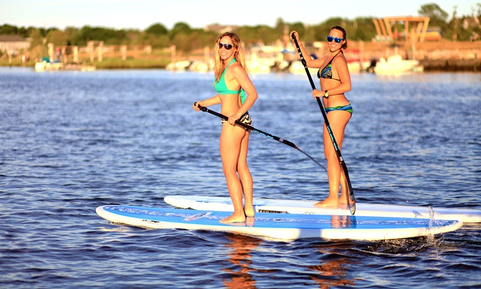 Air Support - West Dennis: Standup-Paddleboard Tour for One or Two with Board Rental at Air Support (Up to 54% Off)