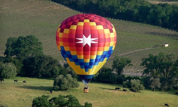 Sonoma Valley Balloons - Santa Rosa: $179 for a Hot Air Balloon Ride with Champagne Toast from Sonoma Valley Balloons ($360 Value)