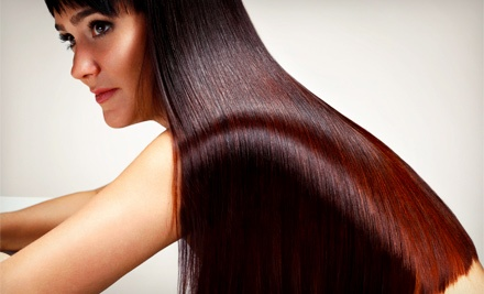 Hair Services at Air Salon & Spa (Up to 62% Off). Three Options Available.