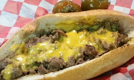 American Food at Jersey Boyz Sandwich Shoppe (Up to 60% Off). Three Options Available.