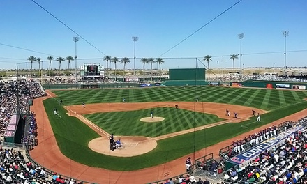 $20 for a Cincinnati Reds or Cleveland Indians Spring Training Game at Goodyear Ballpark ($30 Value). 6 Dates Available.