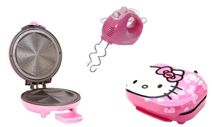 Hello Kitty Kitchen Appliances Hello Kitty Kitchen Appliances Hand Mixer Quesadilla Maker Or