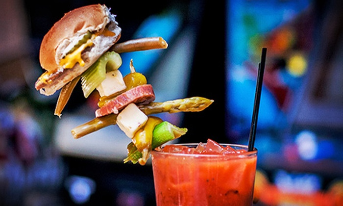 Headquarters Beercade - Lakeview: Bloody Marys with White Castle Sliders for Two, Four, or Six at Headquarters Beercade (Half Off)