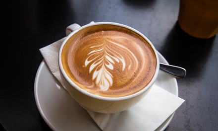 5 or 10 Groupons, Each Good for $5 Worth of Coffee at Growler & Gill Craft Beer Shoppe (Up to 56% Off)