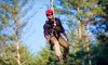 The Beanstalk Journey - Morganton: $69 for a Zipline Tour for Two at The Beanstalk Journey at Catawba Meadows in Morganton ($138 Value)