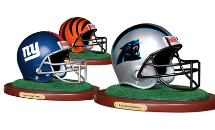 NFL Replica Helmet Figurine. Multiple Teams Available.