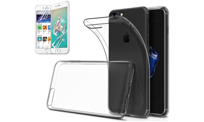 Cover, 2 vetri temperati per iPhone
