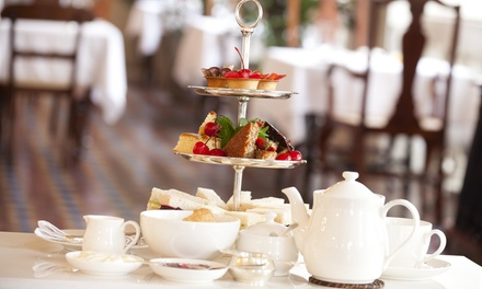 Afternoon Tea with Optional Champagne or Gin and Tonic for Two or Four at Etrop Grange Hotel *