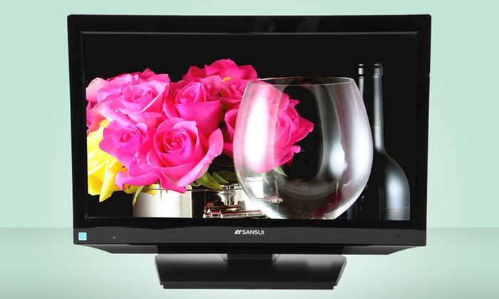 """Sansui 19"""" 720p LCD TV (HDLCD185W): $79.99 for a Sansui 19"""" 720p LCD TV (HDLCD185W) (Manufacturer Refurbished) ($128 List Price). Free Shipping and Returns."""