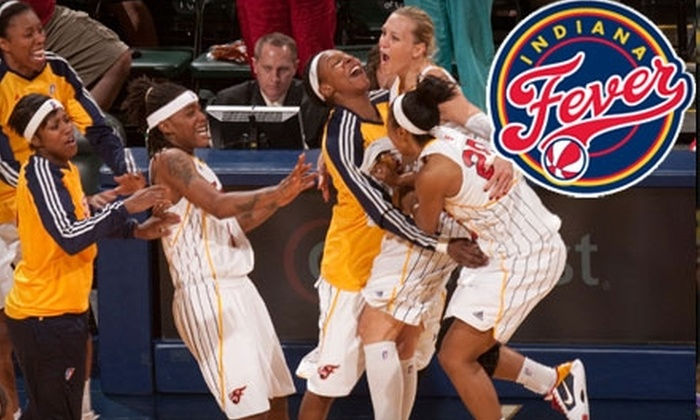 Indiana Fever - Downtown Indianapolis: $24 for One Ticket, with Unlimited Snacks and Drinks, to an Indiana Fever WNBA Game ($50 Value). Choose from Four Games.