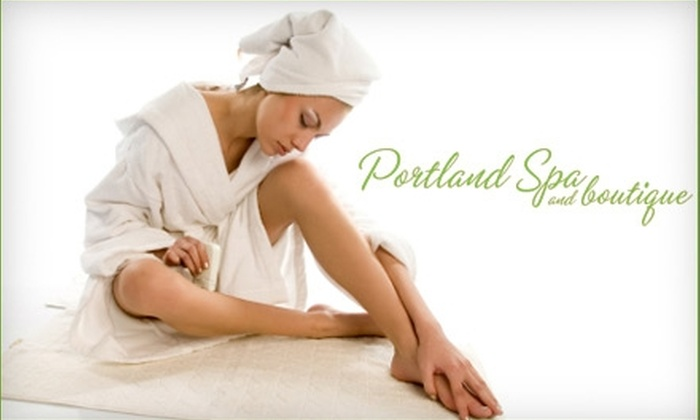 Portland Spa & Boutique - Downtown: $125 for Accent Laser Tightening, Toning, and Firming Treatment ($500 Value) or $100 for Harmony Skin Rejuvenation Treatment ($200 Value) at the Medi Spa of Portland Spa & Boutique