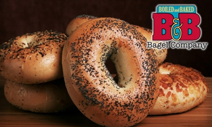 B&B Bagel Company - Rockbridge: $4 for a Bagel Meal at B&B Bagel Company (Up to $8.67 Value)