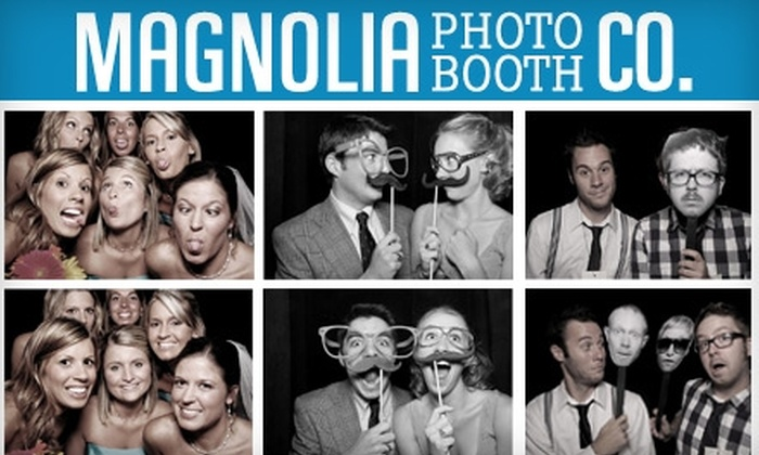 Magnolia Photo Booth Co. - Bee Cave: $595 for a Four-Hour Photobooth Rental Package from Magnolia Photo Booth Co.