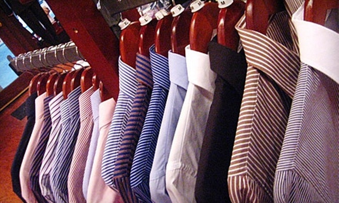 Cuffs & Collars - Downtown: $55 for $125 Worth of Apparel and Accessories at Cuffs & Collars
