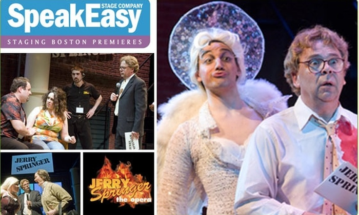 "SpeakEasy Stage Company - South End: $25 Tickets to ""Jerry Springer: The Opera"" ($54 Value)"