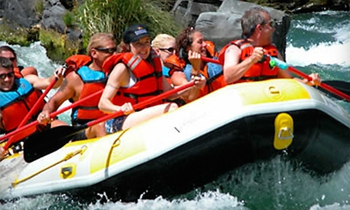 High Desert River Outfitters - Maupin: $30 for a Half-Day Rafting Trip on the Deschutes River ($60 Value) from High Desert River Outfitters in Maupin