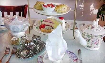 Afternoon Tea for 2 Plus $25 Worth of Loose-Leaf Tea (a $61 value) - Chado Tea Room in Los Angeles