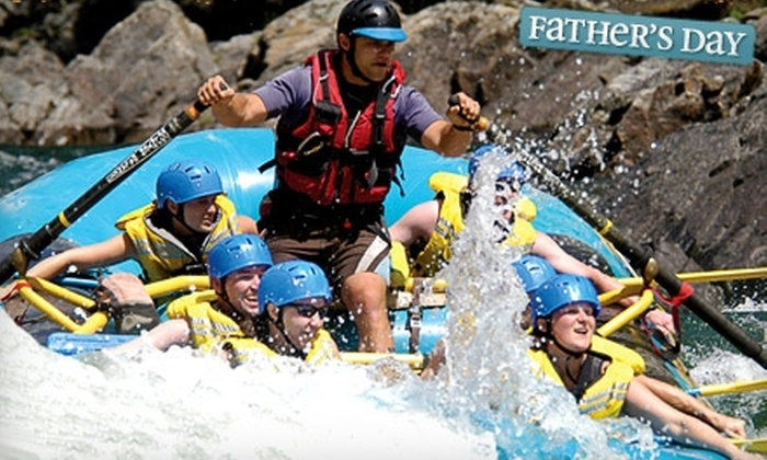 Interior Whitewater Expeditions - Clearwater: $55 for a Three-Hour Whitewater-Rafting Trip from Interior Whitewater Expeditions in Clearwater ($110.88 Value)