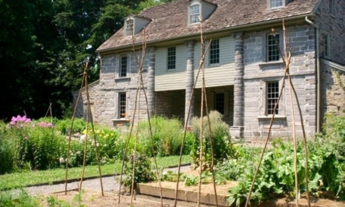 Bartram's Garden - Kingsessing: General Admission to the House and Garden Tour for Two with Option for Art Workshop at Bartram's Garden (Up to 57% Off)