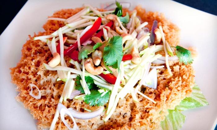 Aura Thai - Cal Heights/Bixby Knolls/Los Cerritos: Thai Meal for Two or Four at Aura Thai in Long Beach
