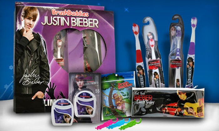 Brush Buddies: $14 for a Justin Bieber Oral-Hygiene Package with a Sonic Toothbrush and Gift Box from Brush Buddies ($29.90 Value)