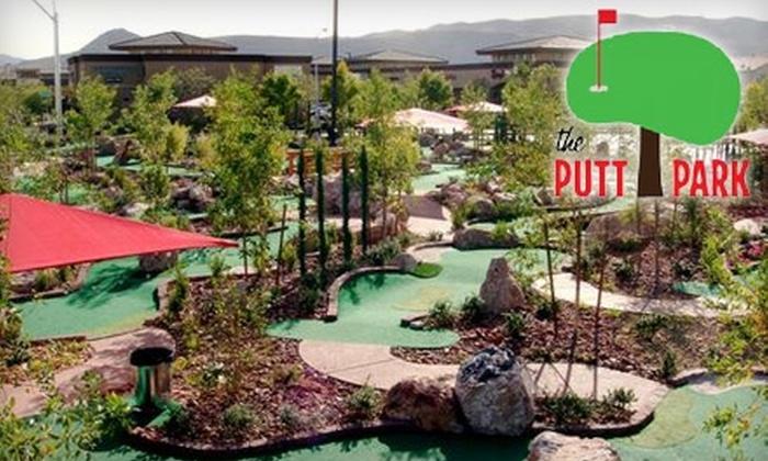The Putt Park Miniature Golf Course - Rhodes Ranch: $15 for 4 Rounds of Mini Golf at The Putt Park Miniature Golf Course
